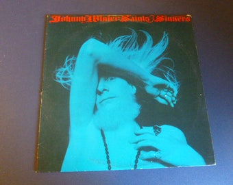 On Sale! Johnny Winter Saints and Sinners Vinyl Record LP KC 32715 Columbia Records 1974