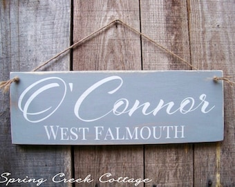 Modern Rustic Signs, Personalized Sign, Family Established Sign, Family Name, Lake, Beach Decor, Wood Sign, Home Decor, Rustic Signs