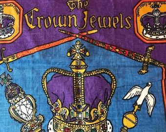 The Crown Jewels Vintage Linen Ulster Irish Linen Towel