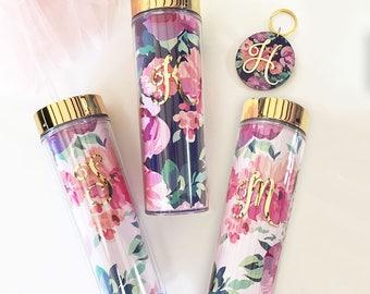 Jaclyn Floral Tumblers