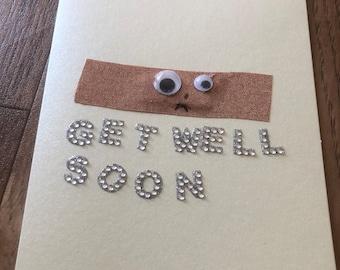 Homemade Get Well Soon Card