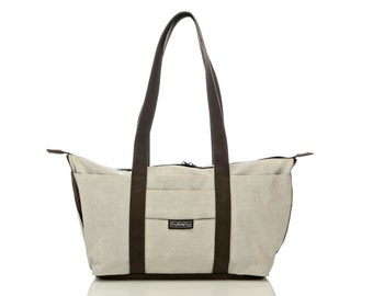 Weiße Umhängetasche, Tasche, Laptop-Tasche - Shay tote Bote