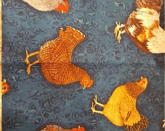 Robert Kaufman fabrics  Prized Poultry