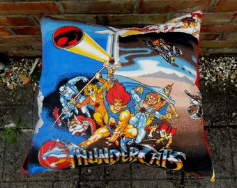 Thundercats Vintage Retro Cushion - handmade by Alien Couture