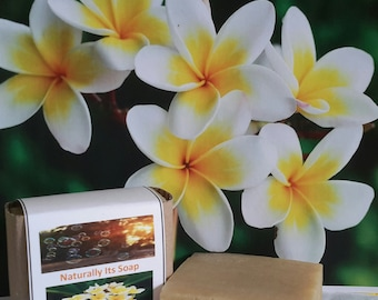 Plumeria scented soap