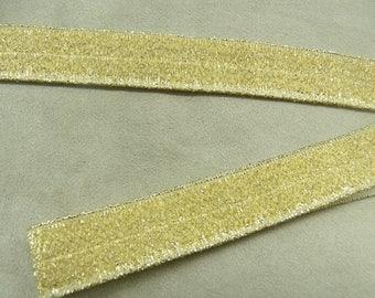 ELASTIC Ribbon - 2 cm - gold