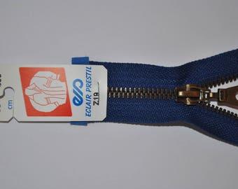 80cm separable Z19 bright blue zipper bugatti 550 mesh metal