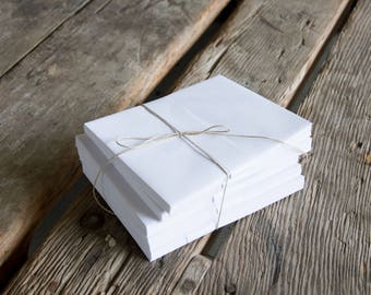 White A2 Envelopes, Perfect for wedding save the dates, stationery, letterpress, crafts, etc