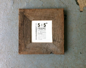 Oak Picture Frame 5 X 7 Made Out Of Red Oak