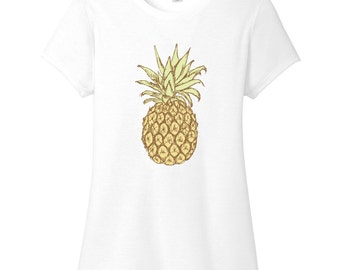 Pineapple Women's Fitted T-Shirt