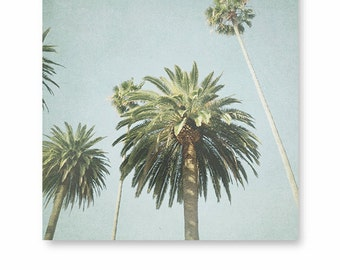Los Angeles print, Palm trees print, Beach Decor, California Photography, California wall art, Palm Tree Photo, Wall decor, Los angeles art