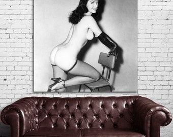 10 Poster Mural Bettie Page Pinup Model Print