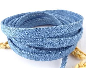 jean cord double 10mm for bracelet or belt