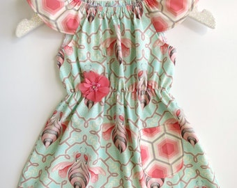 Size 1 Bumble Seaside Dress