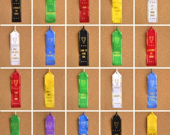 Worst Place ribbons - pick any 5