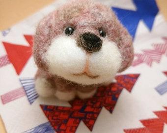 Adopt-Me-Please tiny dog wool felt