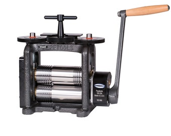 PepeTools Combination Rolling Mill Ultra 160 mm Wide Rollers. Made in USA WA 303-088