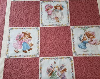 Whimscal Pink Baby quilt