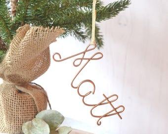 Personalized tree decoration, Tree Ornament, name tree decoration, christmas home, copper tree, christmas ornaments, copper, gold