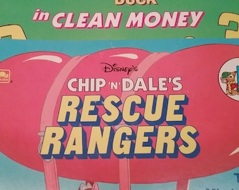 Darkwing Duck and Chip 'n Dale Rescue Rangers Book Set