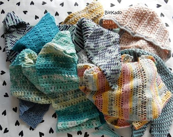 Delicious scarves for winter and spring