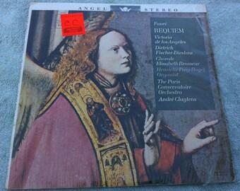 Fauré: Requiem / The Paris Conservatoire Orchestra, André Cluytens Vinyl LP
