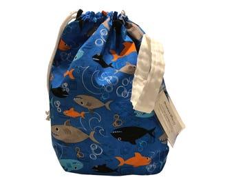 Sharks Project Bag Stuff Sack medium size