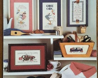 Leisure Arts Women's Writes Counted Cross Stitch Patterns