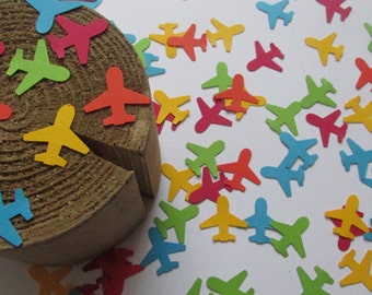 Airplane Confetti, Airplane Party, Travel Party, Baby Boy Travel Party,  Plane Die Cuts, Pilot Retirement Party Decor, Birthday Travel Theme