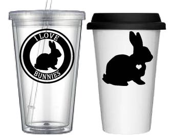 Cup:Bunny(4 designs to choose from!)