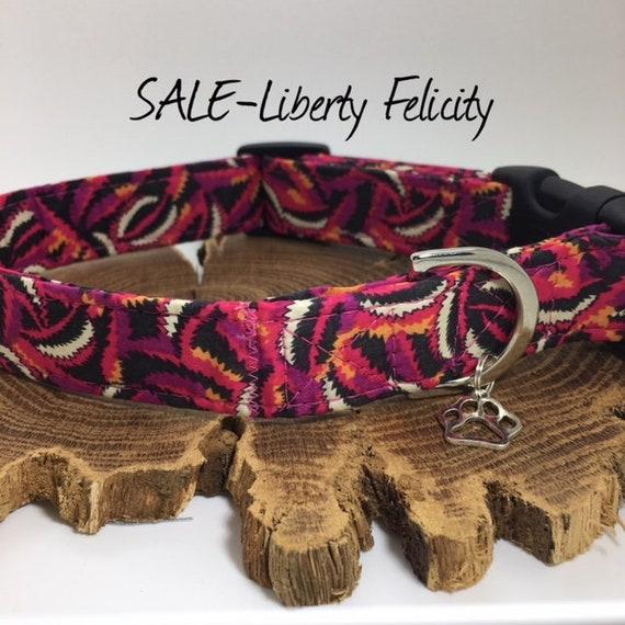 Sale Dog Collar, Liberty London, Felicity, Liberty Dog Collar, Luxury Dog Collar