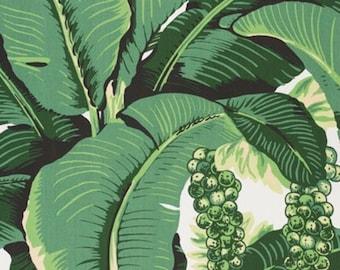 Dorothy Draper Brazilliance Wallpaper Banana Leaf