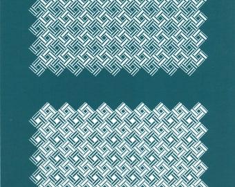 S23 - PARQUET- TheRainbow silk screens