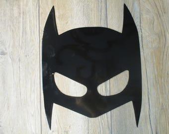 Super hero mask wall art batman