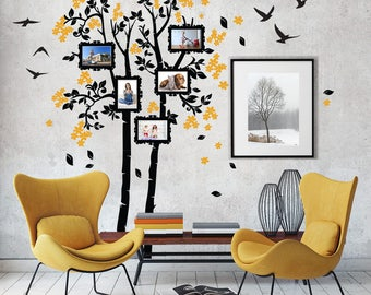 "01411 ""Remember among the branches"" Wall Stickers Decoration trees"