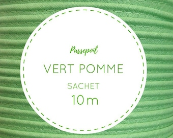 Bag 10 m piping - green meadow 34