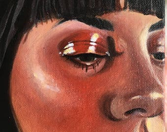 Look of Love ~ Original Acrylic Painting on Gallery Wrapped Canvas