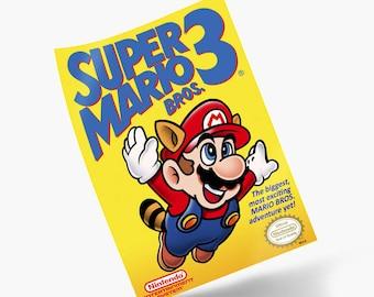 Super Mario Bros. 3 NES Print