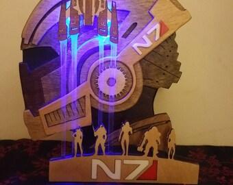Mass Effect Statue