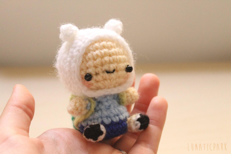 Amigurumi Chibi Doll : Chibi finn adventure time plush