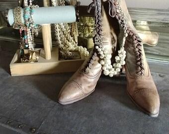 Victorian Era Boots