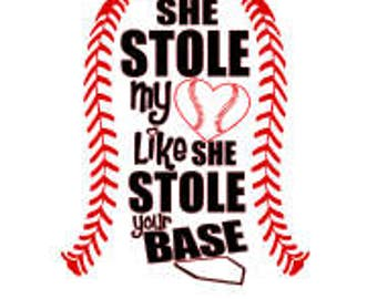 She stole my heart like she stole your base SVG