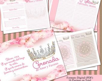 Diario Coronada de Amor Y Favores