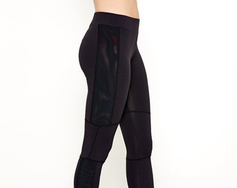 Every Day Motto Leggings in Black or Plum