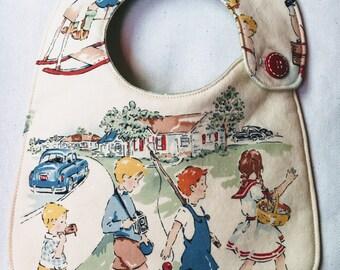 Vintage Kids Infant Bib