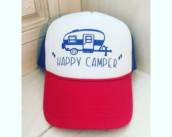 Happy Camper Youth Hat