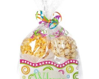Welcome home gift, housewarming gift, gift box, popcorn, popcorn boxes, gourmet popcorn, kettle corn, gift women, gift men, caramel popcorn