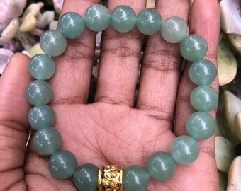 Green Bracelet; Bracelet; Green Aventurine Bracelet; Mens Bracelet