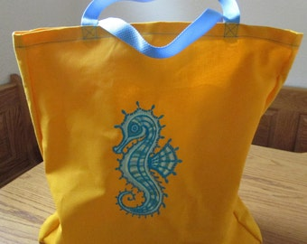 Seahorse Reusable shopping bag
