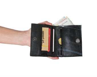 portafoglio di veganupcycled card holder